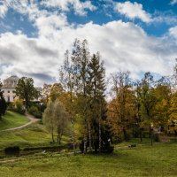 Парк в Павловске :: Юрий Бутусов