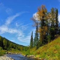 И небо уж дышало синей осенней прохладой :: Сергей Чиняев