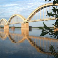 Мост через Волгу :: Юлия Фалей
