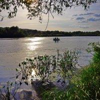 Сентябрьская рыбалка на Десне :: Дубовцев Евгений