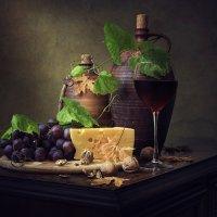 Про сыр,вино и виноград :: Ирина Приходько