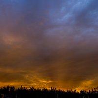 На закате :: Юрий Лутов