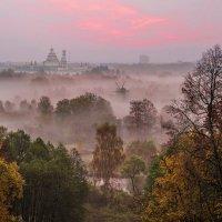 Туманное утро в Истре :: Полина