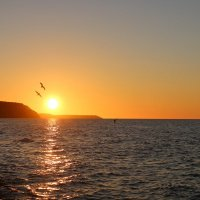 Закат на Балтийском море :: Илья Родионов