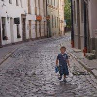 Рижская улочка :: Андрей