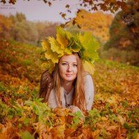 золотая осень 2 ) :: Anna Enikeeva