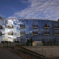 Синее здание :: Aнна Зарубина