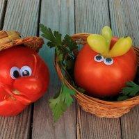 Из жизни овощей: томаты :: Галина Galina