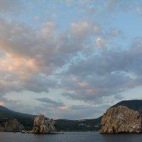 Закатное небо над Адаларами :: Наталья Покацкая