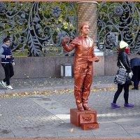 Живые статуи :: Вера
