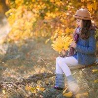 Девочка Осень :: Наталья Кирсанова