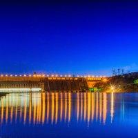 Красноярская ГЭС :: Дмитрий Брошко