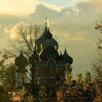 монастырские купола :: Сергей Кочнев