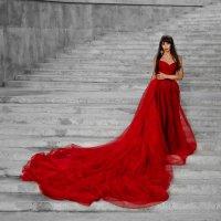 Леди в красном :: Ольга Палей