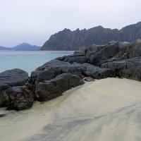 Суровые и прекрасные пляжи Лофотенских островов. :: Ирэна Мазакина