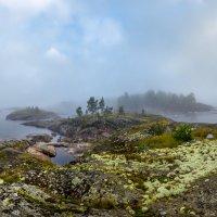 Туманное утро на островах. :: Фёдор. Лашков