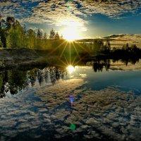 Смотрю в озера синие..... :: Владимир