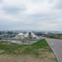 Юго-Западная башня - вид с площади 1 Мая :: Елена Павлова (Смолова)