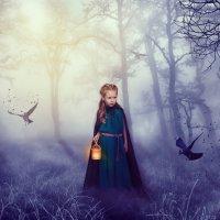Таинственный лес :: Ольга Русецкая