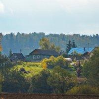 Осень за рекой :: Александр С.