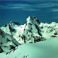 Вершина Ушба, Кавказ :: Lmark