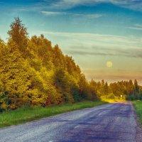 дневная луна :: Константин Нестеров