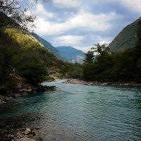 Горная река :: Евгения Кирильченко