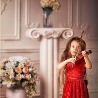 Юная скрипачка :: Roman Sergeev