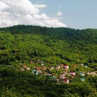 Южный поселок на Черноморском  побережье :: Людмила Волдыкова