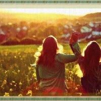 Провожая солнце :: Лидия (naum.lidiya)