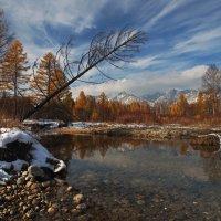 Осень в Тункинской долине... :: Александр Попов