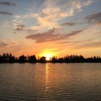 Потрясающей красоты закат :: Наташа Федорова