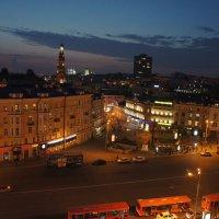 Казань. Вид на улицу Баумана. Ночь :: Елена Павлова (Смолова)
