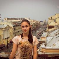 Поход по крышам :: Дмитрий Гладков