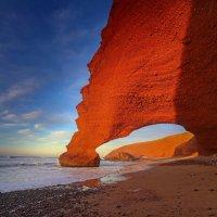 Марокко арки пляжа Легзира :: Алексей Писарев