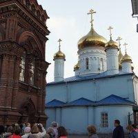 Богoявленский собор с колокольней, которая в начале XX века была самым высоким зданием города :: Елена Павлова (Смолова)