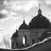 Когда небо в осколках луж... :: galina bronnikova