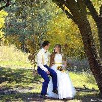 Яркая осенняя свадьба Юлии и Константина :: Анастасия Тищенко