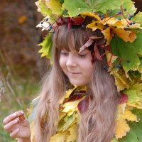 Осень мошку поймала :: Оксана Джафарова