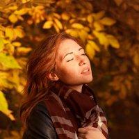 девушка осень :: Олеся