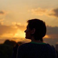 Портрет незнакомки на закате :: Константин Косов