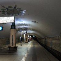 """В Метро. Станция """"Кремлевская"""" :: Елена Павлова (Смолова)"""