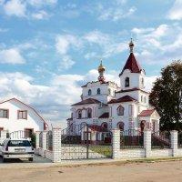Храм святителя Николая Чудотворца в поселке Привольный :: Paparazzi
