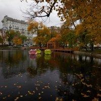 Чистые пруды. Осень :: Светлана Моисеева