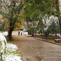 Первый снег :: Наташа Федорова