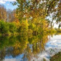 Осень на реке Деме :: Сергей Тагиров