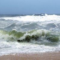 Неспокойно синее море... :: Анатолий 2015 Трепышко