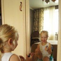 Первый макияж :: Наташа Федорова