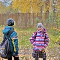 Трое шли из школы 3 :: Валерий Талашов