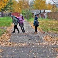 Трое шли из школы 1 :: Валерий Талашов